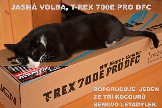 T-REX 700E PRO DFC HV Super Combo RH70E06XW